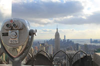 Top of the Rock - Aussichtsplattform des Rockefeller Center
