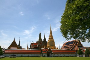 Uhrzeit Bankok Tempel