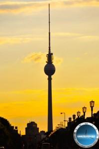 Uhrzeit am Berliner Fernsehturm