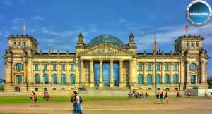 Uhrzeit Berlin Reichtag