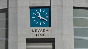 Uhrzeit Las Vegas am Hoover Damm