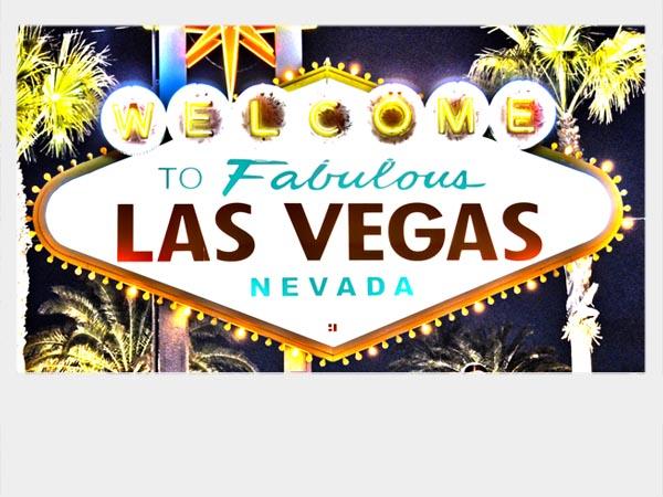 Die Uhrzeit Las Vegas