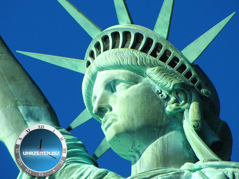 Uhrzeit New York City Usa So Spät Ist Es Jetzt In Nyc