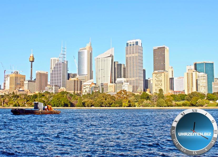 Uhrzeit Australia