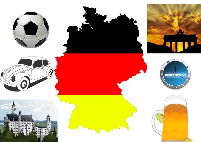 aktuelle Uhrzeit Deutschland