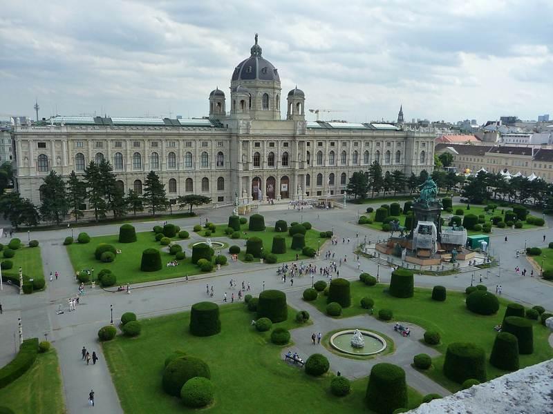 Uhrzeit in Wien - Österreich