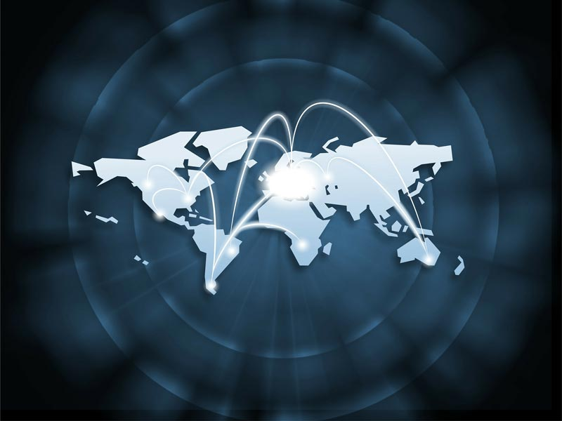 Zeitverschiebung auf der Welt