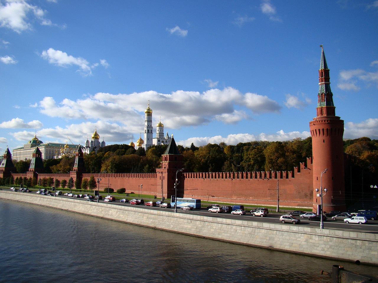 Uhrzeit Kreml in Moskau