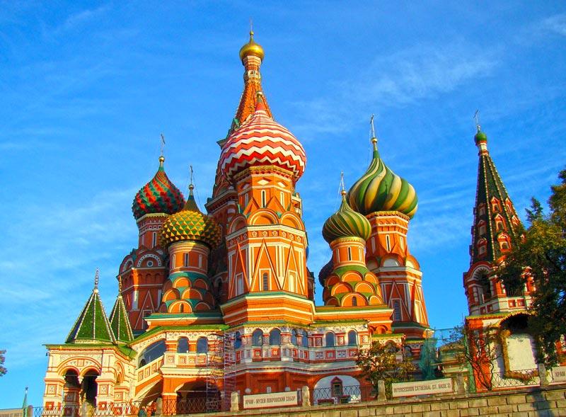 Uhrzeit in Moskau - Russland