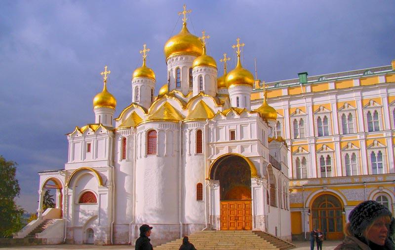 Uhrzeit Moskau - Christ-Erlöser-Kathedrale