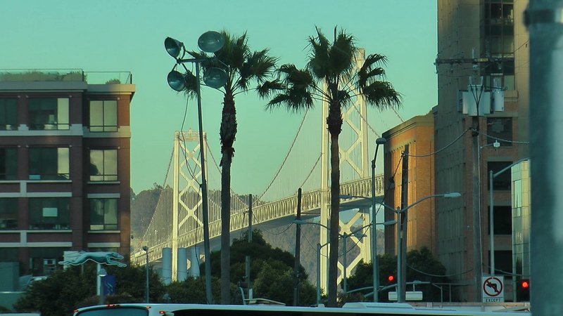 Klima San Francisco an der Harbour Bridge