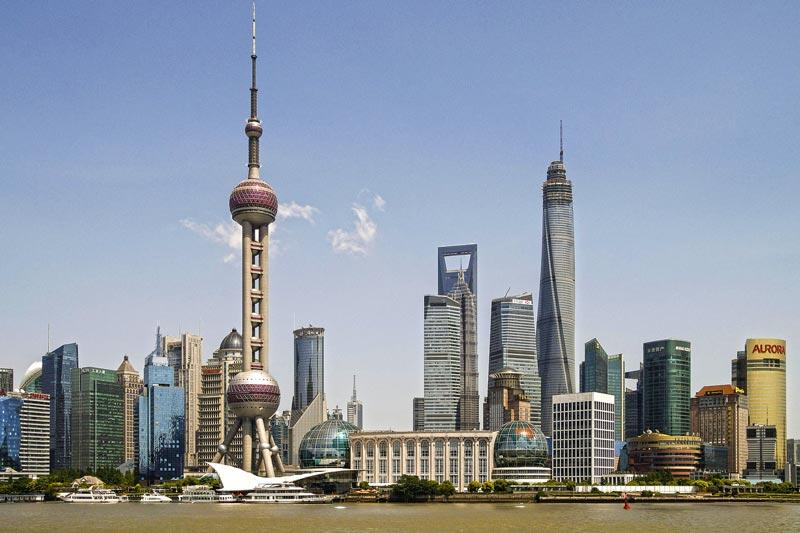 Uhrzeit in Shanghai