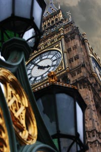 Zeit in London - Big Ben