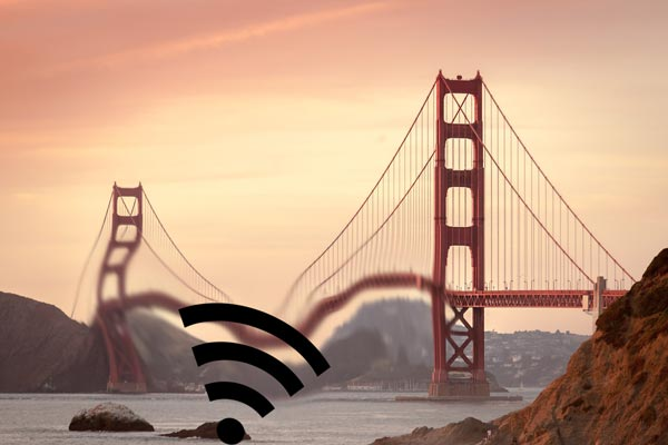 Erdbeben San francisco - Golden Gate Brücke