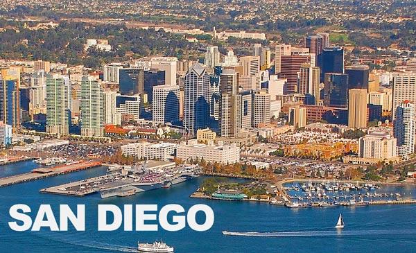 Uhrzeit San Diego – Kalifornien (USA)