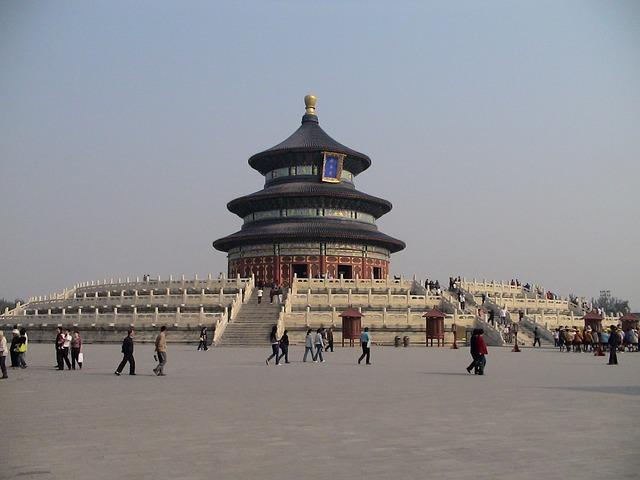 Himmelstempel Uhrzeit Peking