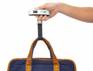 Gepäckwaage für Flugreisen
