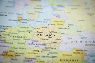 Zeitzone von Warschau in Polen