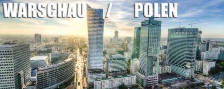Aktuelle Uhrzeit jetzt in Warschau / Polen