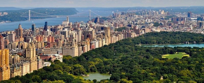 Central Park Vogelperspektive