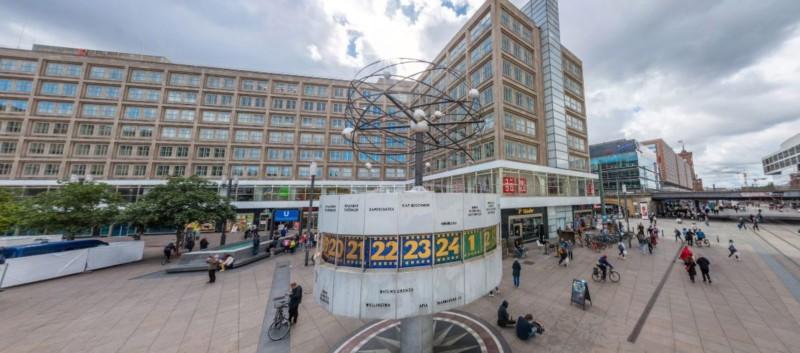 Weltzeituhr Berlin Alexanderplatz (Deutschland)