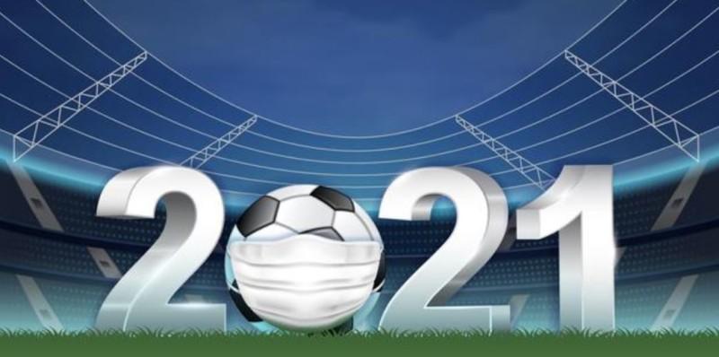 Fußball Europameisterschaft 2021 - Corona-Ball