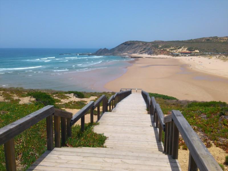 Amoreira - der schönste Strand Portugals