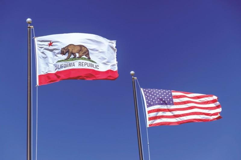 Uhrzeit Kalifornien USA