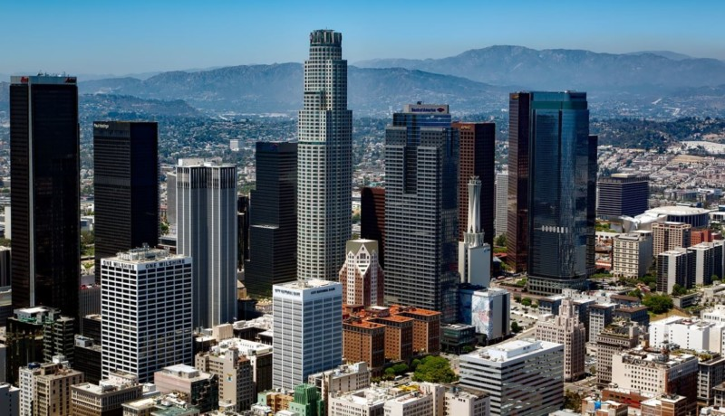 Die größte Stadt in Kalifornien: Los Angeles