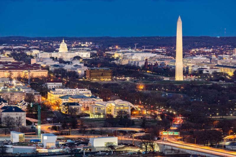 Uhrzeit in Washington DC